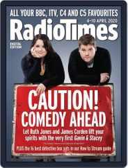Radio Times (Digital) Subscription April 4th, 2020 Issue