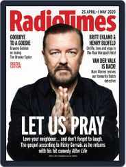 Radio Times (Digital) Subscription April 25th, 2020 Issue