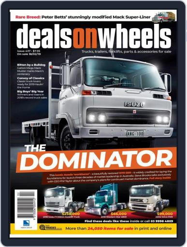 Deals On Wheels Australia March 1st, 2019 Digital Back Issue Cover