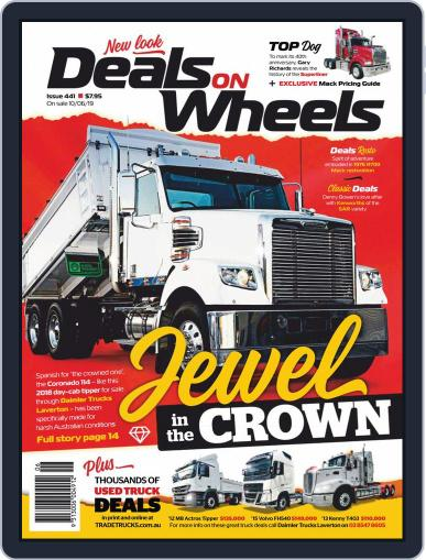 Deals On Wheels Australia July 1st, 2019 Digital Back Issue Cover