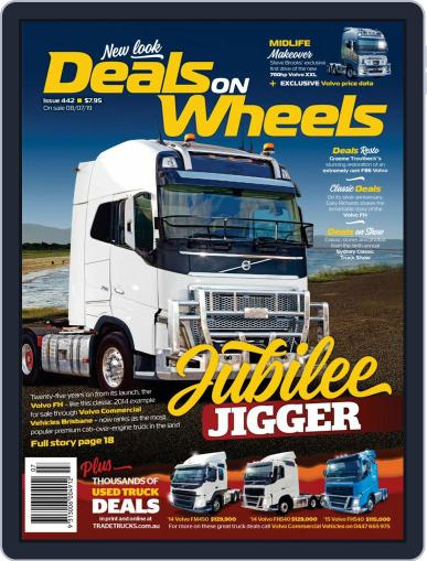 Deals On Wheels Australia August 1st, 2019 Digital Back Issue Cover