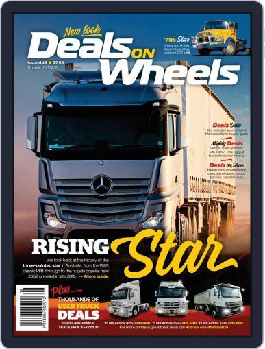 Deals On Wheels Australia September 1st, 2019 Digital Back Issue Cover