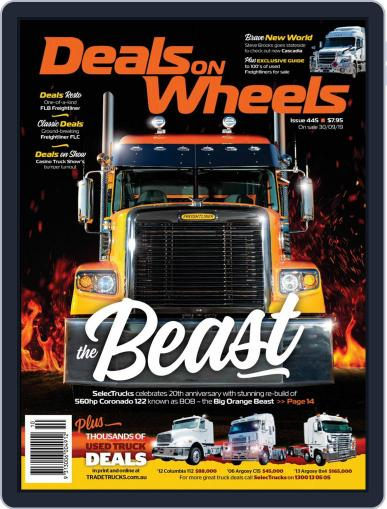 Deals On Wheels Australia October 1st, 2019 Digital Back Issue Cover