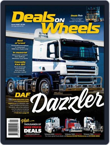 Deals On Wheels Australia February 1st, 2020 Digital Back Issue Cover