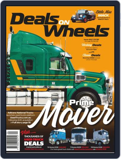 Deals On Wheels Australia April 13th, 2020 Digital Back Issue Cover