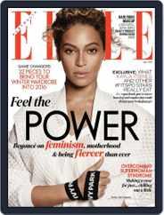 ELLE Australia (Digital) Subscription April 24th, 2016 Issue