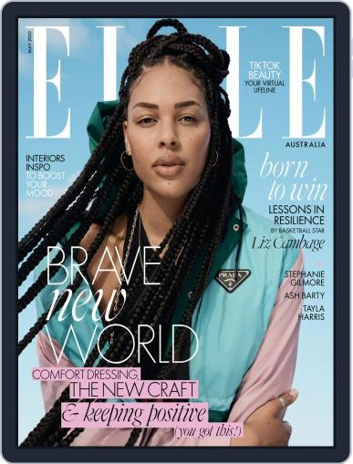 ELLE Australia May 1st, 2020 Digital Back Issue Cover