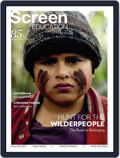 Screen Education March 1st, 2017 Digital Back Issue Cover