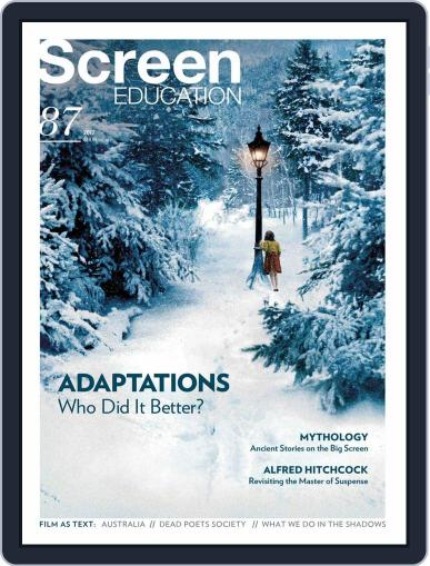 Screen Education August 1st, 2017 Digital Back Issue Cover