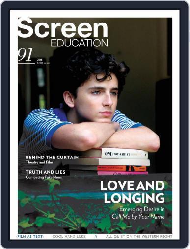 Screen Education September 1st, 2018 Digital Back Issue Cover
