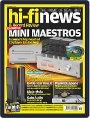 Hi Fi News (Digital) Subscription November 1st, 2019 Issue