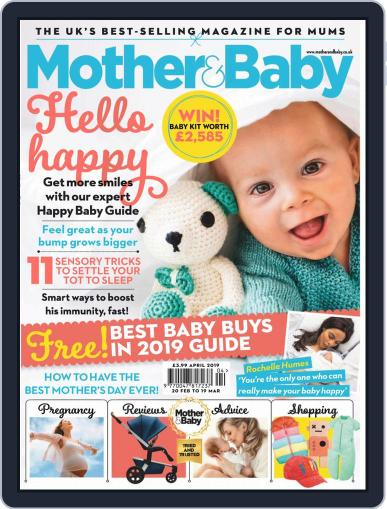 Mother & Baby April 1st, 2019 Digital Back Issue Cover