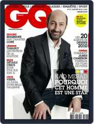 Gq France (Digital) Subscription December 15th, 2009 Issue