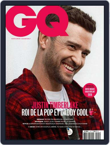 Gq France September 19th, 2018 Digital Back Issue Cover