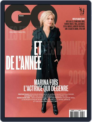 Gq France December 1st, 2019 Digital Back Issue Cover