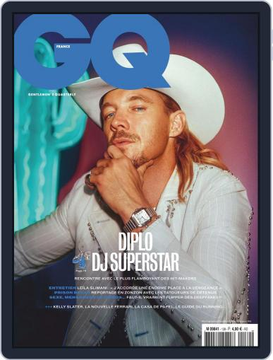 Gq France April 1st, 2020 Digital Back Issue Cover