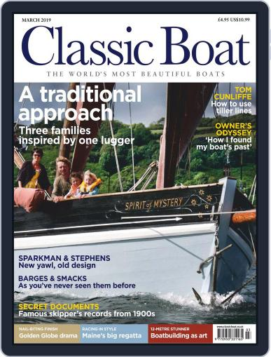 Classic Boat March 1st, 2019 Digital Back Issue Cover
