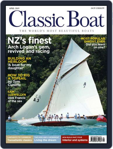 Classic Boat April 1st, 2019 Digital Back Issue Cover