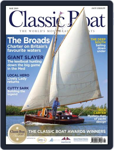 Classic Boat May 1st, 2019 Digital Back Issue Cover