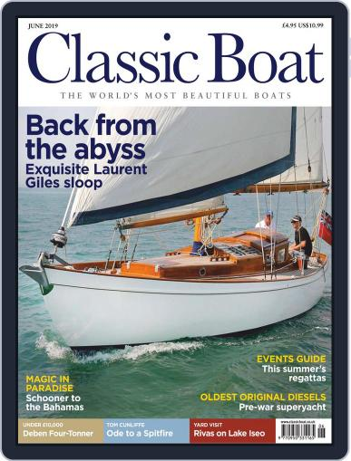 Classic Boat June 1st, 2019 Digital Back Issue Cover