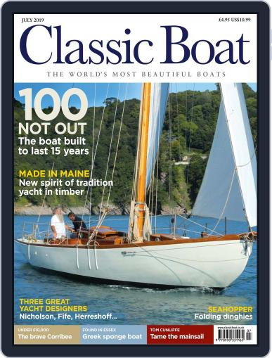 Classic Boat July 1st, 2019 Digital Back Issue Cover