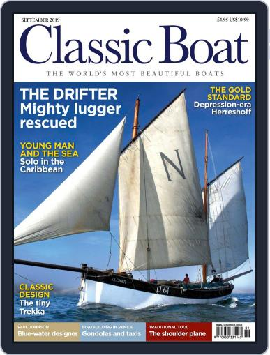 Classic Boat September 1st, 2019 Digital Back Issue Cover