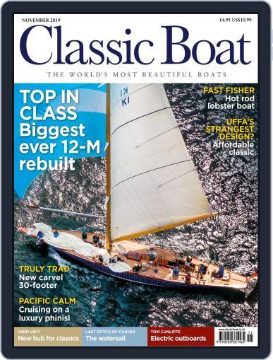 Classic Boat November 1st, 2019 Digital Back Issue Cover