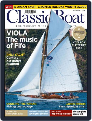 Classic Boat February 1st, 2020 Digital Back Issue Cover
