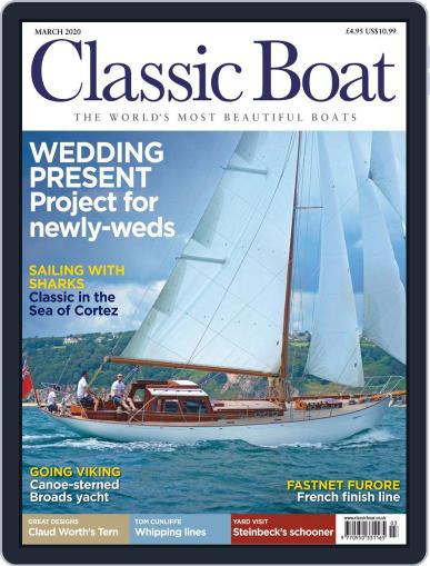 Classic Boat March 1st, 2020 Digital Back Issue Cover