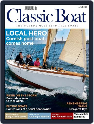 Classic Boat April 1st, 2020 Digital Back Issue Cover