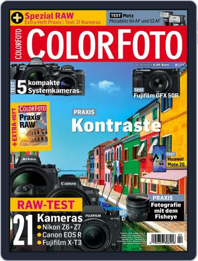 Colorfoto February 1st, 2019 Digital Back Issue Cover