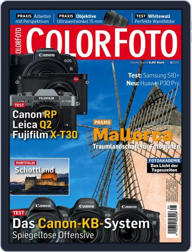 Colorfoto May 1st, 2019 Digital Back Issue Cover