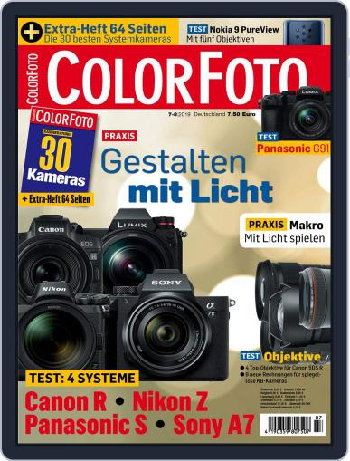 Colorfoto July 1st, 2019 Digital Back Issue Cover