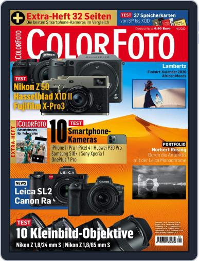 Colorfoto January 1st, 2020 Digital Back Issue Cover