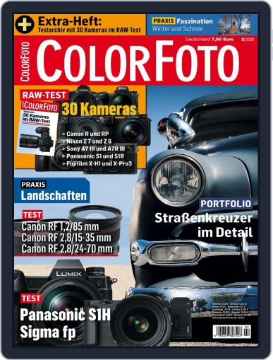 Colorfoto February 1st, 2020 Digital Back Issue Cover