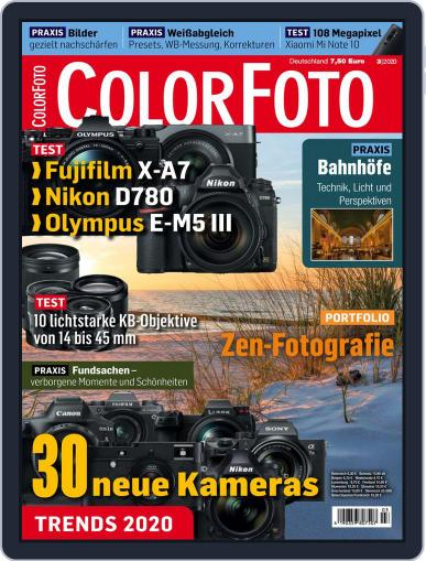 Colorfoto March 1st, 2020 Digital Back Issue Cover