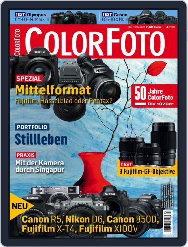 Colorfoto April 1st, 2020 Digital Back Issue Cover