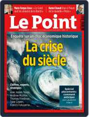 Le Point (Digital) Subscription April 9th, 2020 Issue