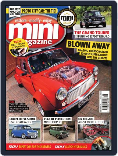 Mini August 1st, 2019 Digital Back Issue Cover
