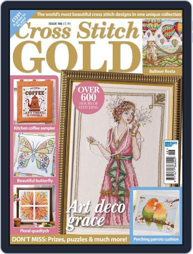 Cross Stitch Gold April 1st, 2018 Digital Back Issue Cover