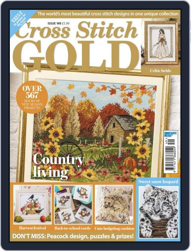 Cross Stitch Gold August 1st, 2018 Digital Back Issue Cover