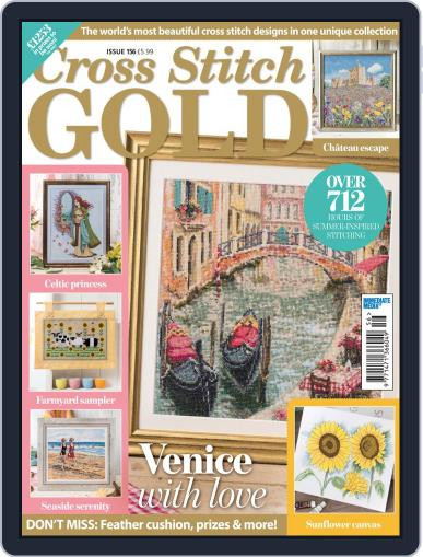 Cross Stitch Gold June 1st, 2019 Digital Back Issue Cover