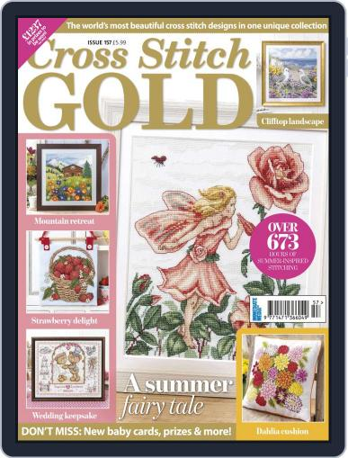Cross Stitch Gold July 1st, 2019 Digital Back Issue Cover