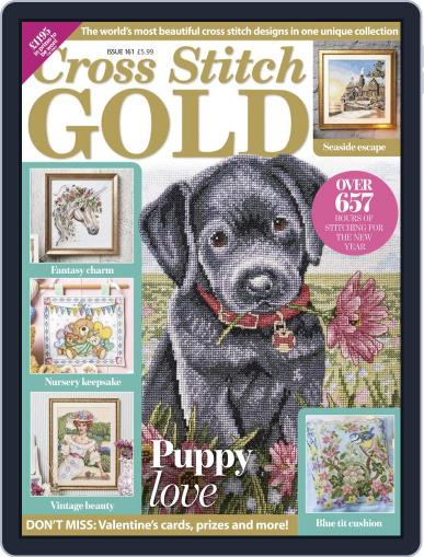 Cross Stitch Gold December 1st, 2019 Digital Back Issue Cover