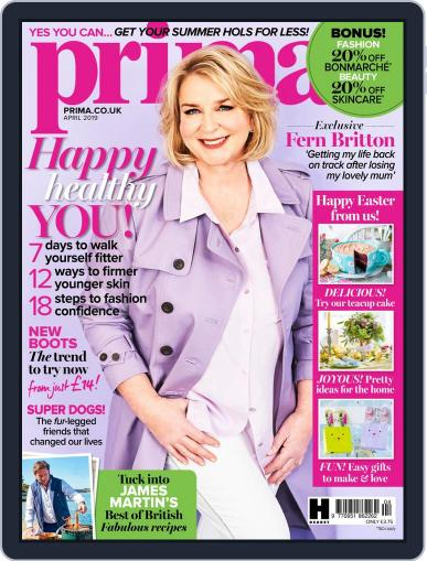 Prima UK April 1st, 2019 Digital Back Issue Cover
