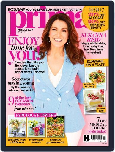 Prima UK June 1st, 2019 Digital Back Issue Cover