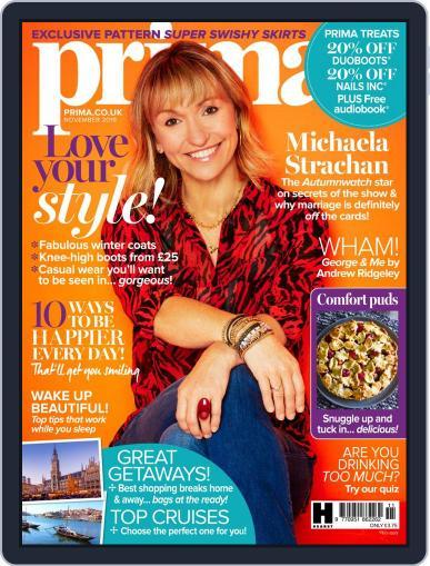 Prima UK November 1st, 2019 Digital Back Issue Cover