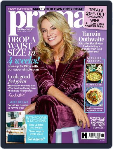 Prima UK February 1st, 2020 Digital Back Issue Cover