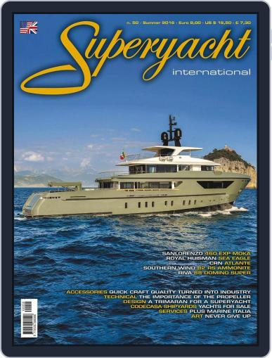 Superyacht International July 1st, 2016 Digital Back Issue Cover