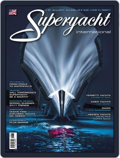 Superyacht International March 31st, 2017 Digital Back Issue Cover